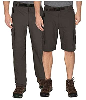BC Clothing Men's Convertible Pant with Stretch (XL-30