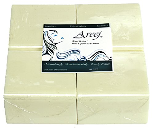 Areej Hypo-Allergenic Biodegradable Shea Butter Soap Base...