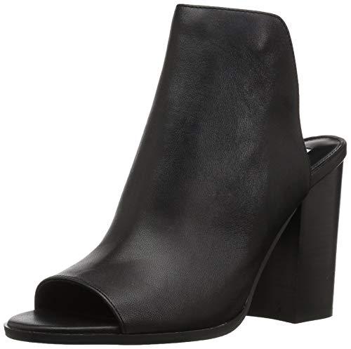 Madden Steve M 7 5 Mule Tilt Leather Women's Us Black nO6xqg4