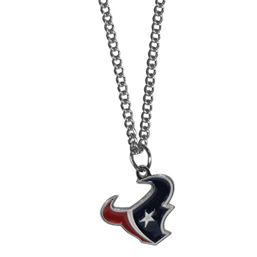 NFL Houston Texans Chain Necklace with Small Pendant, 20