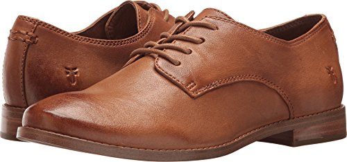 FRYE Women's Anna Oxford Camel 7 B US