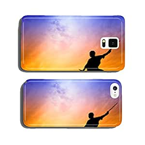 Shaolin pose at sunset cell phone cover case iPhone6 Plus