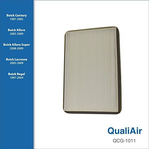 QualiAir QCG-1011, Cabin Air Filter for Buick (1Pack)