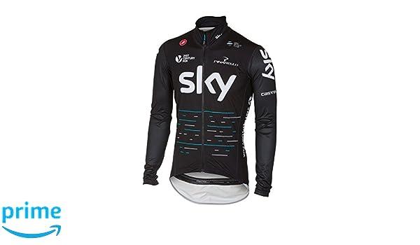 Amazon.com: Castelli 2017 Mens Team Sky Pro Fit Light Rain Jacket (XL): Clothing
