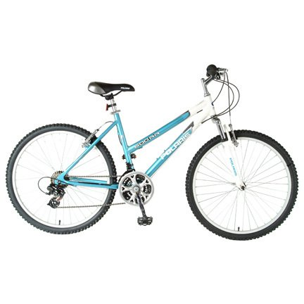 Polaris Ladies 600RR Mountain Bike (Blue/White, 26 X 18-Inch)