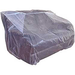 CRESNEL Furniture Cover Plastic Bag for Moving Protection and Long Term Storage (Loveseat)