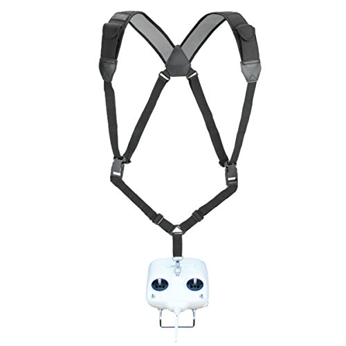 Price comparison product image TrueSHOT RC Harness Shoulder Strap Necklace with Comfortable Neoprene Design and Accessory Storage Pockets - Perfect for RC Boats ,  Cars ,  Motorcycles ,  Helicopters ,  Planes and More