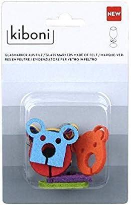 Compra Kiboni – Pack 8 Marcadores Animales de Fieltro Surtidos en Amazon.es