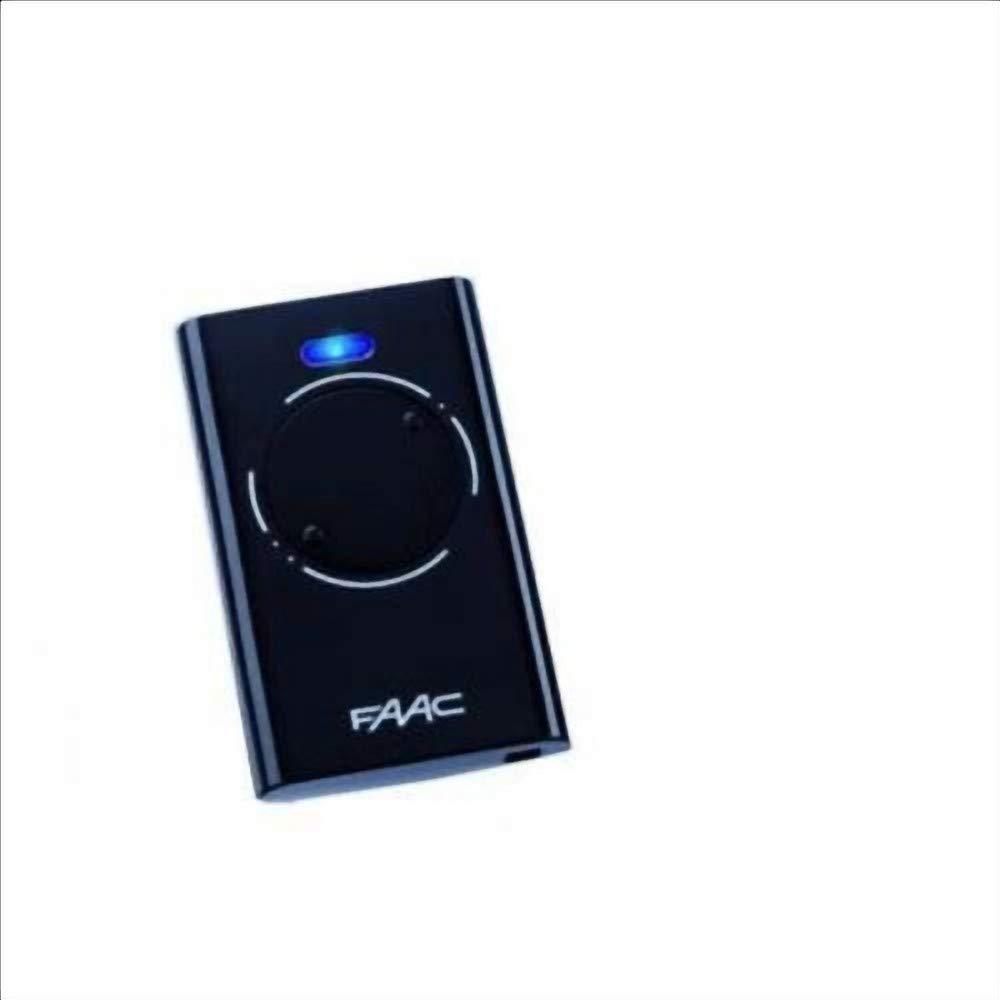 7870091/ transmisor faac XT2/868/SLH LR/ /Color Negro c/ódigo