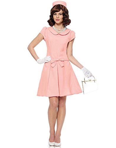 Jackie Kennedy Costume (Costume Culture Women's First Lady Costume, Pink,)