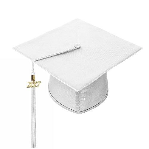 graduation cap white - 9