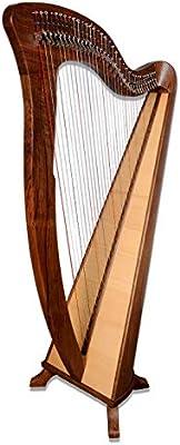 McHugh Harfe - Cuerdas para guitarra (34 cuerdas, redondas), color ...
