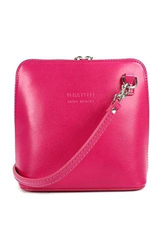 W Pink 17 Leather bag x practical x Italian 5 16 H x Shoulder Women's 8 shoulder D Bag Small CM and elegant 5 x AgSSvxWUn