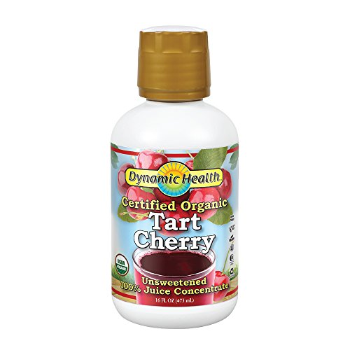 Dynamic Health Organic Tart Cherry Concentrate 16 Servings (Best Tart Cherry Juice For Arthritis)