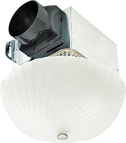 AIR KING AMERICA AKLC70SNS 70 CFM Decorative Quiet Exhaust Fan, Nickel