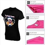 WPdragon Womens Black-Crowes T Shirt Logo Black M