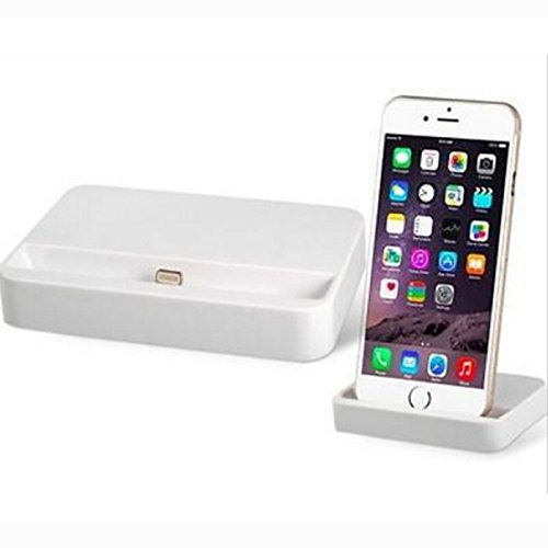 High Quality Charger Docking Station Charging Data Sync Dock Stand Holder For iPhone 6 iPhone6 plus COLOR: WHITE Star Global