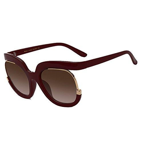 Dormery Sunglasses Women Classic Brand Designer Vintage Gradient Sunglasses Oversize Frame UV400 Oculos de sol WL1083 C04