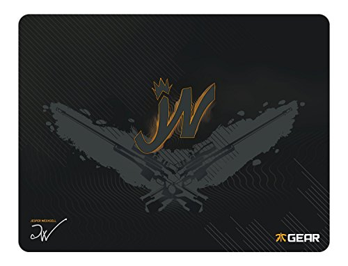 Fnatic Gear Focus Pro Gaming Cloth Mouse Pad JW Edition (XXL Size) - 19.2 x 14.7 Inches