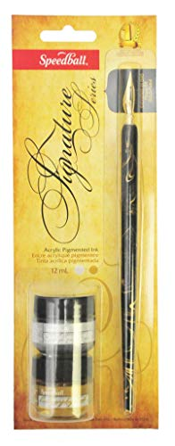- Speedball Signature Series Calligraphy Set, Gold and Silver