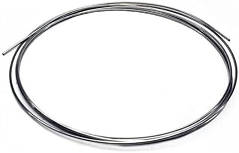 """STAINLESS TUBING LINE 3//16/"""" ROLL OF 20 FT 304 GRADE UNIVERSAL CUT FIT EASY FLARE"""