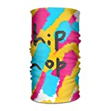 Hip Hop Abstract Painting 16-in-1 Magic Scarf,Face Mask,fishing Mask,Thin Ski Mask,Neck Warmer Balaclava Bandana For Raves,Dust,Riding Bike,Motorcycle,Outdoor Activities