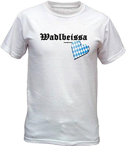 Wiesn T-Shirt - Wadlbeisser - lustiges Bayerisches Sprüche Shirt ideal für's Oktoberfest statt Lederhose und Dirndl