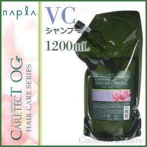 【X4個セット】 ナプラ ケアテクトOG シャンプーVC 1200ml リフィル B00KFPHW8I