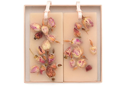 Santa Maria Novella Rosa Wax Tablets - Box of 2 by Santa Maria Novella