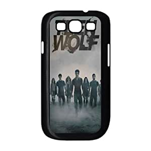 Custom Hard Plastic Back Case Cover for Samsung Galaxy S3 I9300 with Unique Design Teen Wolf
