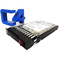HP 613922-001 600GB SAS hard drive - 10,000 RPM, 2.5-inch small form factor (SFF), 6Gb/s SAS interface - For use with EVA M6625 disk enclosure