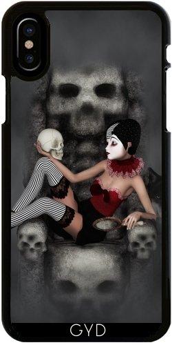 Funda para Iphone X - Harlekin De Terror by Illu-Pic.-A.T.Art