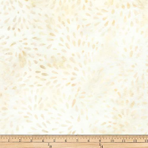 Robert Kaufman Elementals Petals Batik Petals Fabric, Sand, Fabric By The Yard