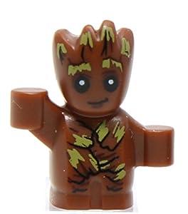 Genuine Lego Superheroes Baby Groot Minifigure 2017 Split