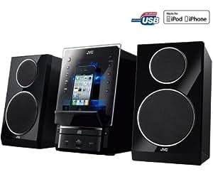 JVC Microcadena CD/MP3/USB/iPod UX-LP55BE - negro