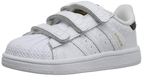 free shipping 27b1c f1bc6 adidas Originals Superstar CF I Kids Shoe (Infant Toddler),  White White Black, 8.5 M US Toddler - Buy Online in Oman.   Apparel  Products in Oman - See ...