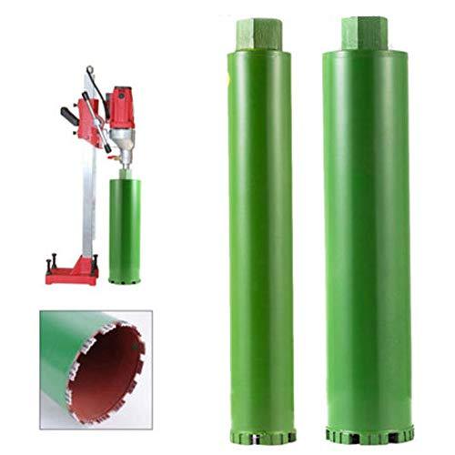 TABODD 2Pcs 2-1/5″ 3″ Wet Diamond Core Drill Bit for Concrete – Premium Green Series 370mm