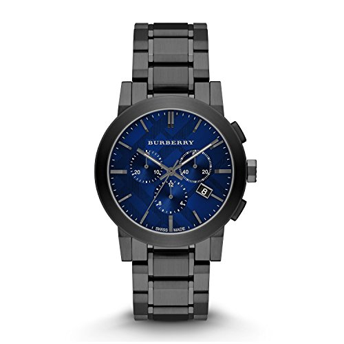 Burberry-Mens-Swiss-Chronograph-Gray-Ion-Plated-Stainless-Steel-Bracelet-Watch-42mm-BU9365
