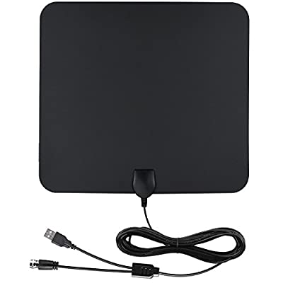 Skytv HD Antenna 50 Miles Range Digtial TV Antenna, HDTV Indoor Antenna for High Reception Antenna
