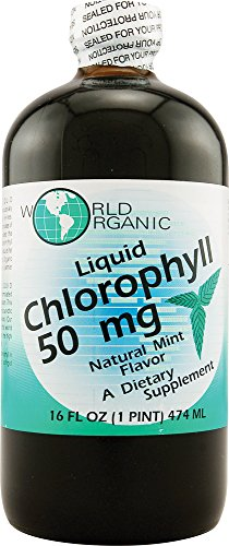 WORLD ORGANICS Chlorophyll Peppermint Liquid