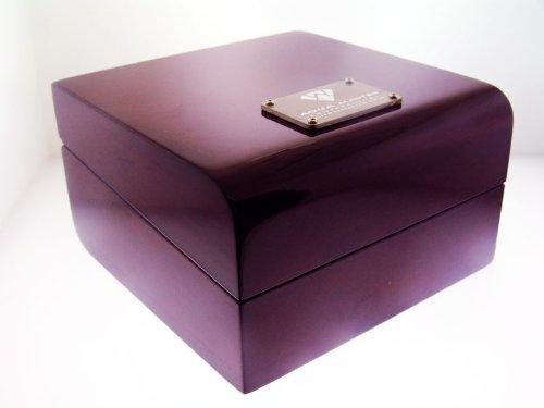 Original Aqua Master Mahogany Wood Watch Box