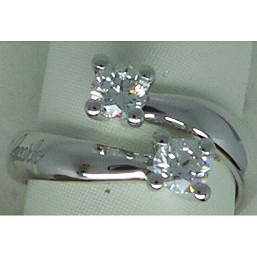 Eternity Bague recarlo r02co341/062or blanc diamant