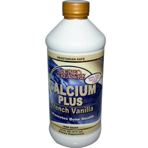 Buried Treasure Calcium Plus Fr Vanilla 16 Oz