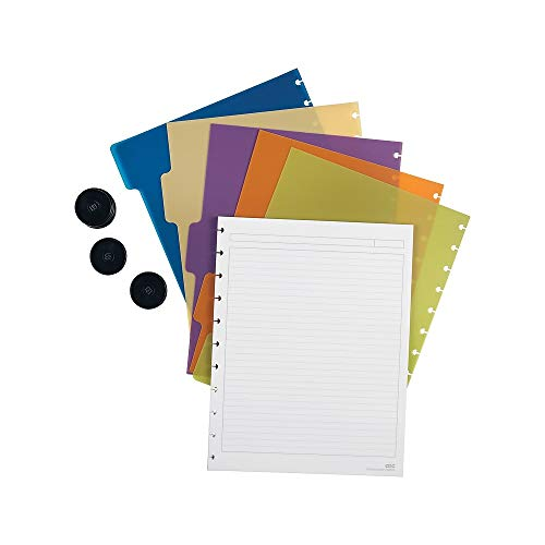 Staples? Arc Notebook System Accessory Kit, Letter Size, Includes Paper, Dividers, and Rings ()