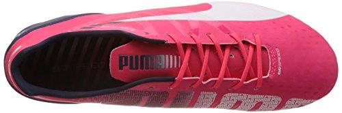 peacoat Puma evoSPEED bright Herren FG plasma Fußballschuhe rojo 1 3 Rot 04 white aPqw1WUa