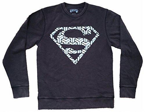 Superman - Mosaik Logo - Offiziell Vintage Herren Sweatshirt