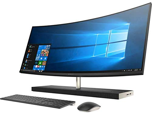 HP Envy 34 Curved Desktop 4TB SSD 32GB RAM (Intel Core i7-8700T Processor Turbo Boost to 4.00GHz, 32 GB RAM, 4 TB SSD, 34