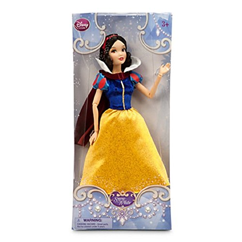 Disney Store Princess Snow White Doll Classic (Deluxe Sparkle Snow White Princess Costumes)