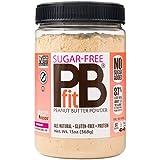 PBfit sin Azucar Polvo Creama Cacahuate Mantequilla Sugar-Free Monk Fruit Peanut Butter 368g 13oz, bajo en grasa y bajo en calorías