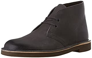 Clarks Men's Bushacre 2 Chukka Boot, Grey Leather, 11.5 M US (B00UWJ31L4) | Amazon price tracker / tracking, Amazon price history charts, Amazon price watches, Amazon price drop alerts